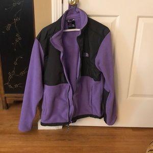 North face Purple zip up